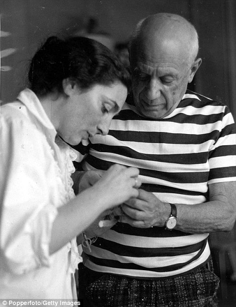 Jacqueline Roque worshipped Picasso when she first met him as a 27-year-old woman - but he was at first indifferent. He went on to marry her in 1954 and the two were together for 20 years