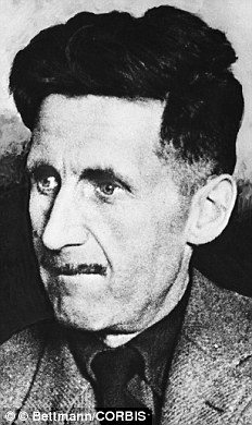 ca. 1940s --- George Orwell, famous English author. --- Image by © Bettmann/CORBIS