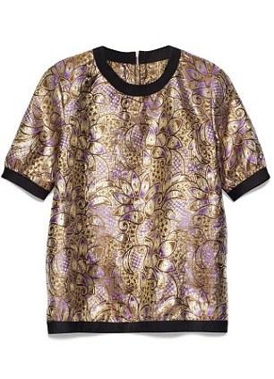 Jacquard weave top, £59.99