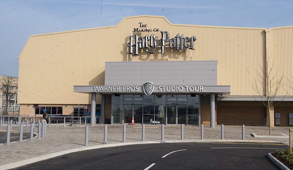 Attraction: The 150,000 square foot Warner Bros studios are due to open their doors to the public on March 31 - just in time for the Easter holidays. A family ticket will cost £83