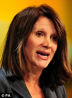 Argument: Equalities Minister Lynne Featherstone believes marriage 'should be open to everyone