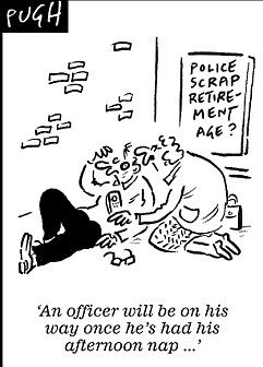 Fat cop crackdown: Police officers too unfit for the beat