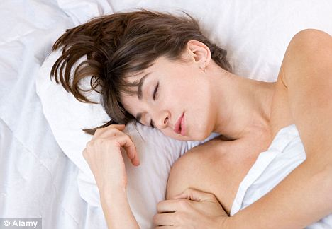 Food for thought: Lack of sleep can make you eat more (file picture)