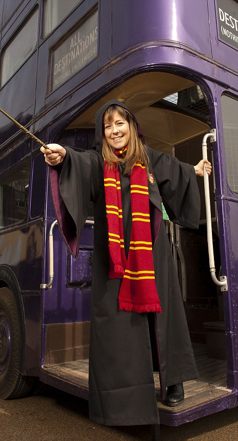 Harry Potter Studio Tour How YOU Can Fly A Broomstick And
