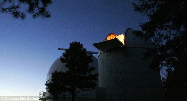 Ever watchful: The CSS's Schmidt Telescope scans the skies