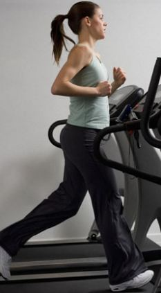 Half an hour on the treadmill burns around 180 calories - the amount saved by men who ate the seaweed toast
