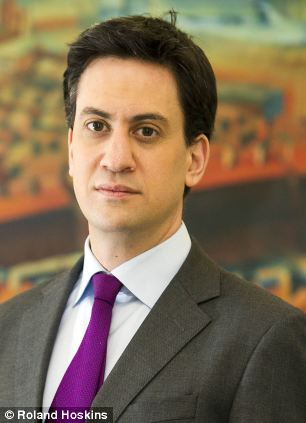 Leader of the opposition Ed Miliband