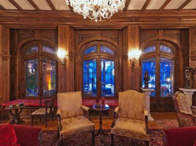 red rugs for living room nautical furniture richthofen castle, 'haunted' denver home of the 'red baron ...