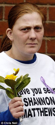 Freed: Karen Matthews has been released from jail after serving just half her eight year sentence