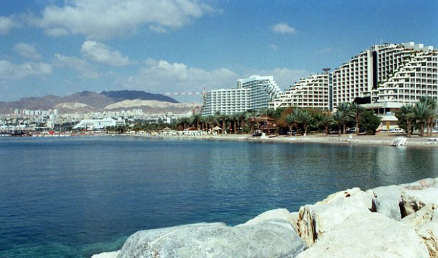 Popular: With its year-round sunshine, Eilat has long been a favourite destination for UK visitors, particularly during UK winters