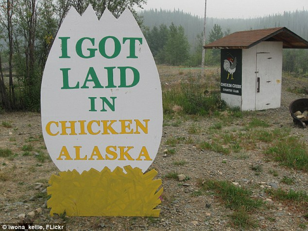 Goldrush town: Unable to spell the name of the local grouse that lives in the area the locals settled on Chicken instead