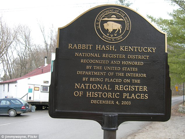 Staple diet: Named following a flood in the 1800's the rabbit hash was all you could eat in the town for years