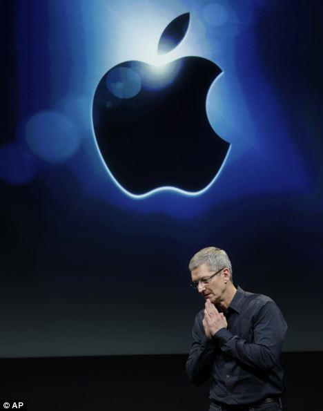 Apple CEO Tim Cook, tasked with continuing the success of Apple after the death of Steve Jobs, could be set to see the company's stock rise above £1trillion, analysts have predicted