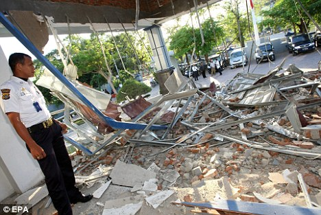 A tsunami alert was sounded across the Indian Ocean in following a more than 8 magnitude earthquake which destroyed this building in Banda Aceh