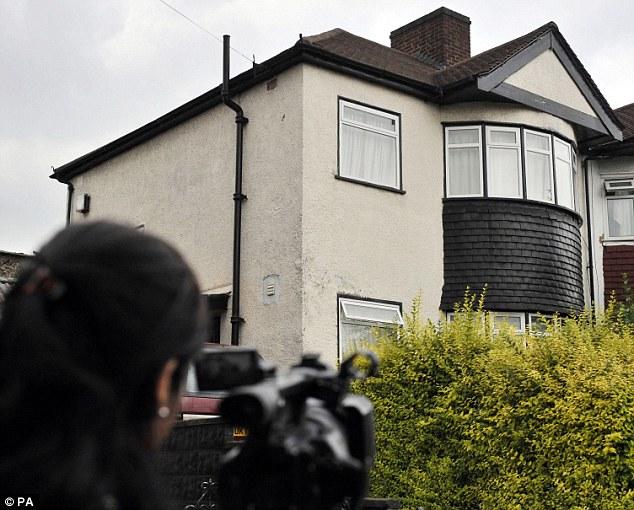 House of horror: The house in Penshurst Road, Tottenham, where Baby P lived