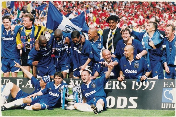 Image result for chelsea fa cup winners 1997