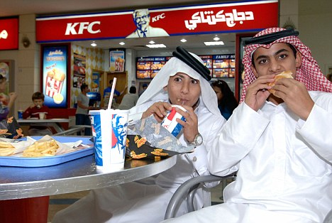 Recipe for disaster: Wealthy Qataris do very little exercise, are waited on by armies of servants and have developed a love of fast food