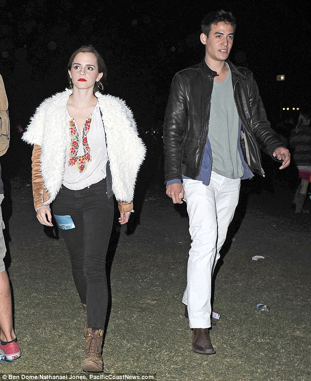 New couple: The pair reportedly met while Will was on a placement at Oxford University from Brown in America - where she is due to return to