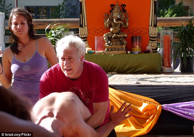 Controversial: Friend is said to have founded a coven of women called Blazing Solar Flames who would give him naked massages to increase the amount of 'energy' between them