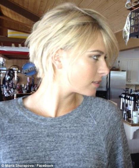 Maria Sharapova Reveals New Short Haircut Is Just A Wig