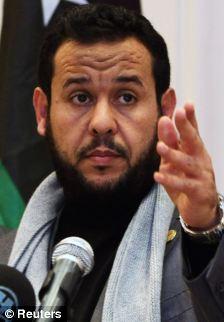 Libya's Islamist military chief Abdel Hakim Belhadj