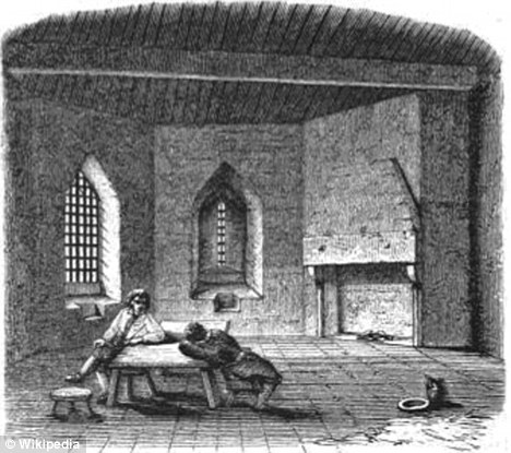 Critics of legal loopholes allowing prison time to be dished out to bad borrowers say it is reminiscent of 19th century Victorian debtor's prison like this one at St Briavels Castle in Wales