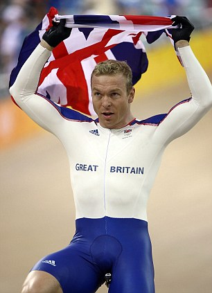 Good memories: And Chris Hoy will be hoping history repeats itself in London