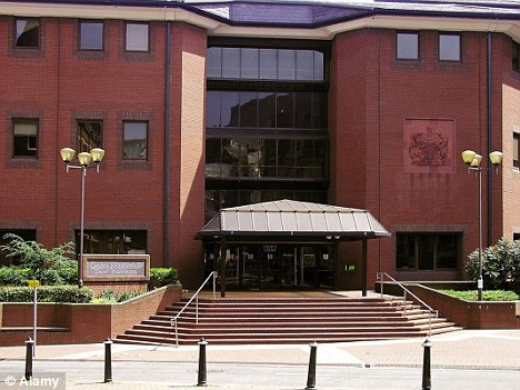 Sentence: The defendants were jailed at Birmingham Crown Court (pictured)