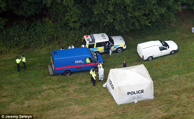 Grim discovery: The scene at Harrowdown Hill, where the body of Dr David Kelly was discovered in 2003