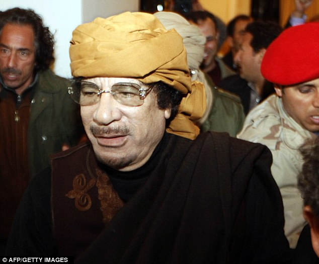 Revelations: The documents were unearthed from Libyan spymasters' archives after Colonel Gaddafi was toppled with the help of British forces