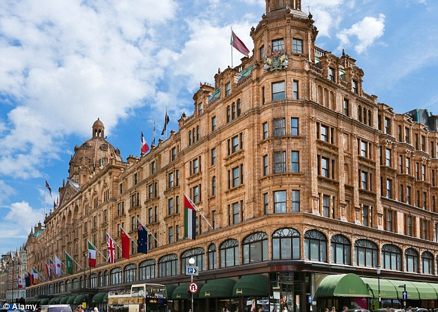 Upmarket: MI5 accommodated the Libyan intelligence officers in a luxury serviced flat near Harrods in Knightsbridge, London
