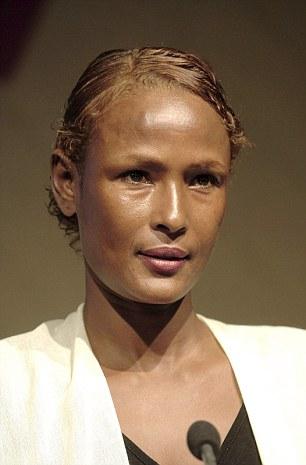 Supermodel turned UN ambassador Waris Dirie was mutilated aged 5