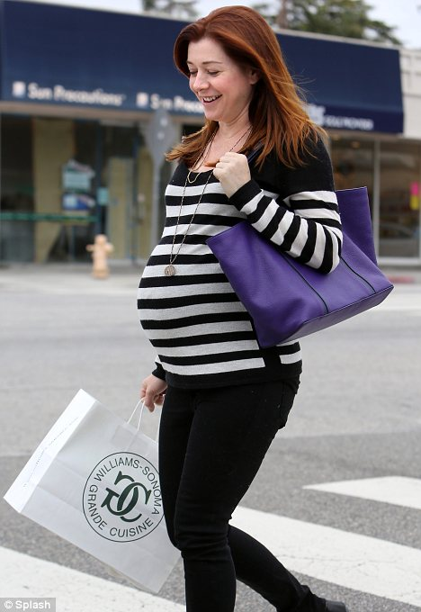 Alyson Hannigan steps out to pick out bigger maternity wear  Daily Mail Online