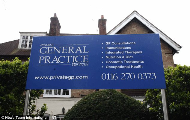 Life saving: General Practice in Leicester, run by Dr Piper