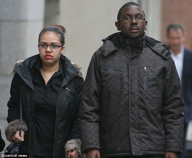 'Dangerous allegations': Rohan and Chana at the Old Bailey, where they had to endure a six-week murder trial before being found not guilty when evidence revealed Jayden had been ill rather than abused