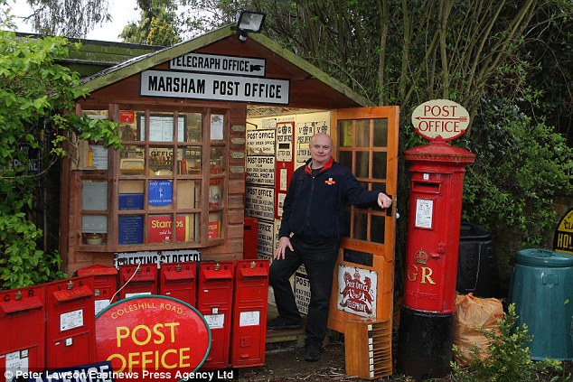 My shed is a 1950s post office