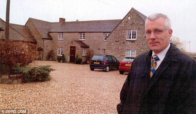 Under investigation: Dr George Hibbert, pictured outside the Family Assessment Centre in Swindon