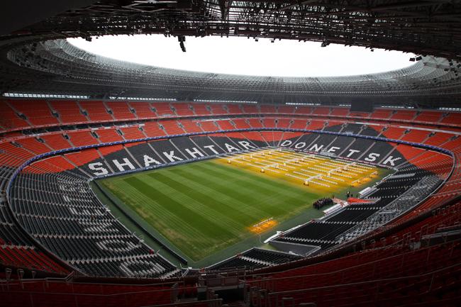Donbass Arena, Donetsk - 50,000 capacity