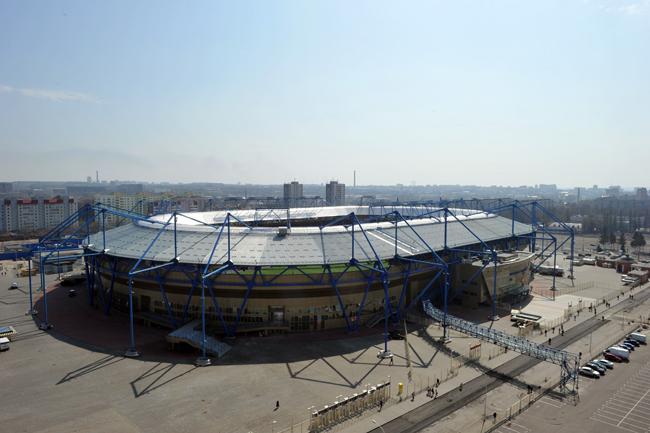 Metalist Stadium, Kharkiv - 30,000 capacity