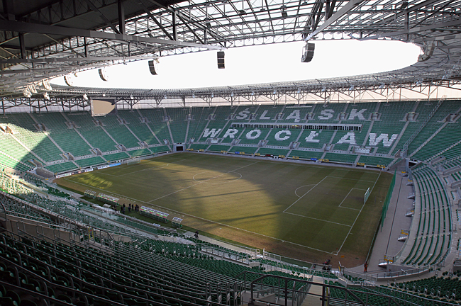 Municipal Stadium, Wroclaw - 40,000 capacity