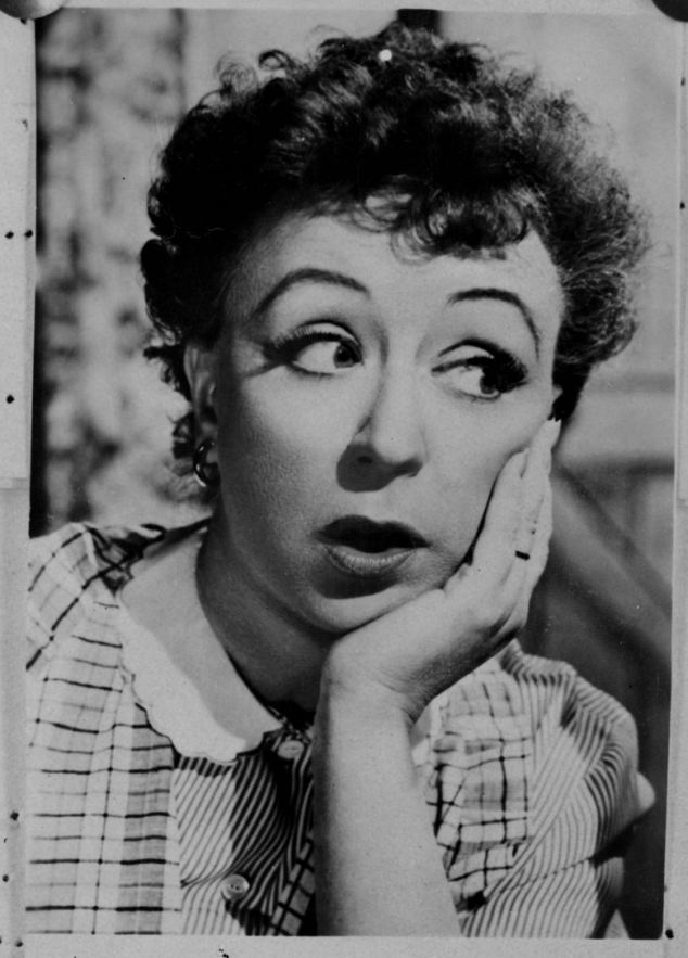 Potential: This publicity picture of 'actress Miss Thora Hird' was issued in November 1953