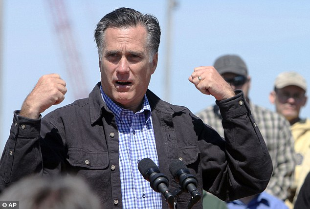 Rival: Mr Obama's campaign team has questioned whether Mitt Romney would have acted in the same manner as he did in ordering the special forces mission which culminated in the death of Osama bin Laden