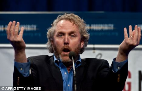 Connection: Conspiracy theorists say that Mr Cormier's death is somehow connected to the death of Andrew Breitbart