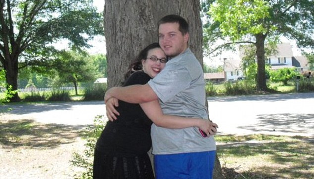 Slaying: Amber Mederos, 22, and her boyfriend Jim, also 22, were killed in the shooting, as was their two-year-old daughter Lily