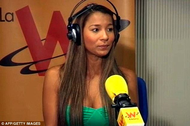 Prostitute Dania Suarez spoke out onW Radio and Caracol TV, in Madrid, Spain on Friday, her first public interview