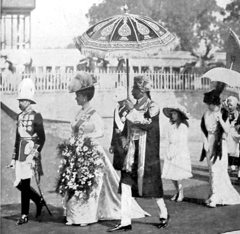Check Out What George V and Queen Looked Like  in 1911