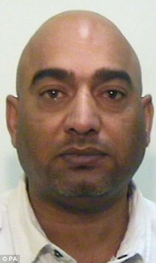 Undated handout photo issued by Greater Manchester Police of Mohammed Amin, 45, who has been found guilty of conspiracy and sexual assault