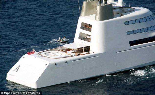 Russian Billionaires Bond Villain 300m Yacht That Comes