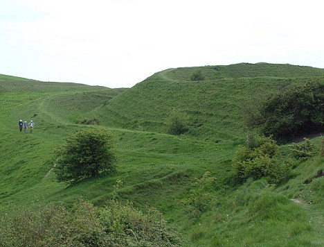 Hambledon Hill could have been one of the places where the neolithic gatherings occurred