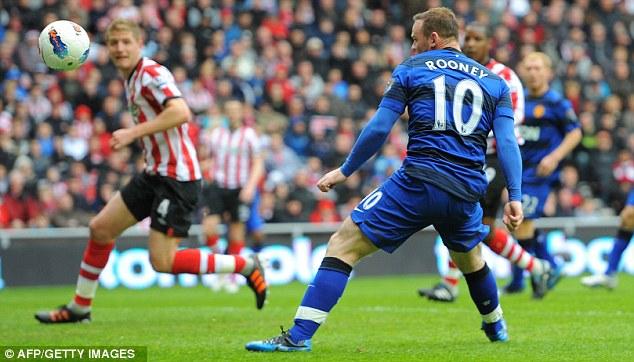 Il gol di Rooney contro il Sunderland che diede temporaneamente il titolo allo United.